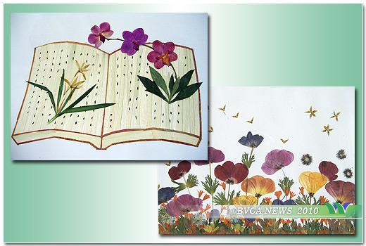 园艺系师生参加国际压花艺术作品比赛(图)图片